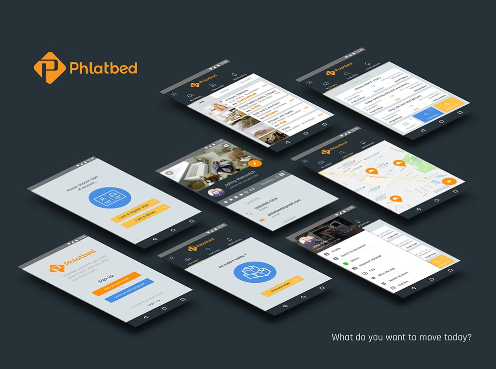 Phlatbed mobile application