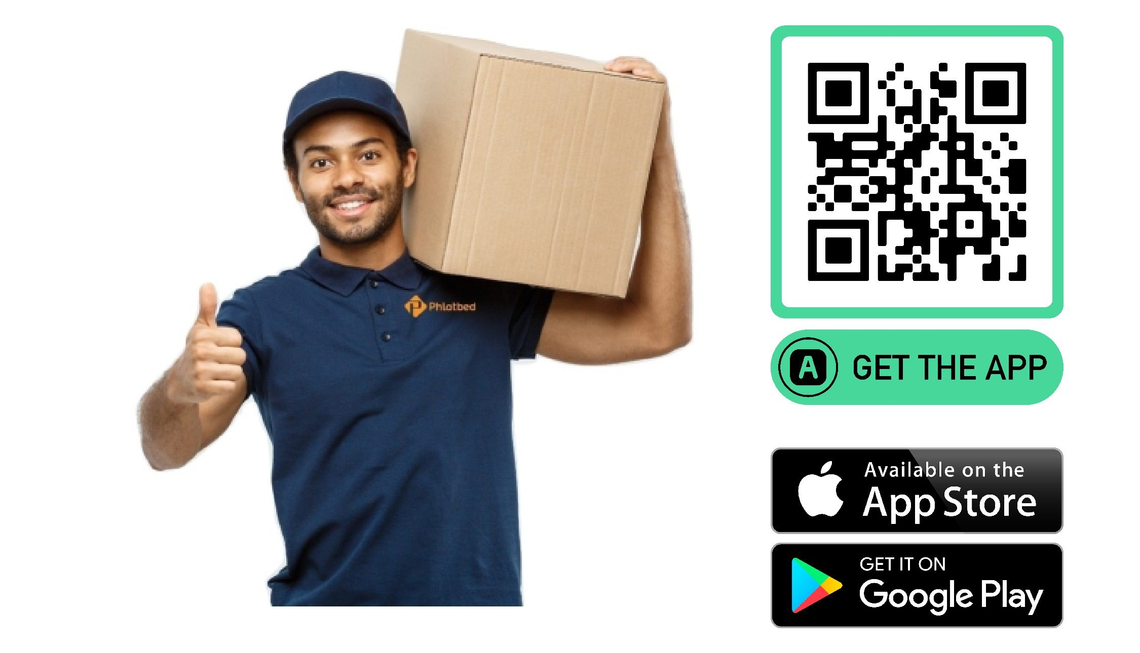Phlatbed delivery app driver